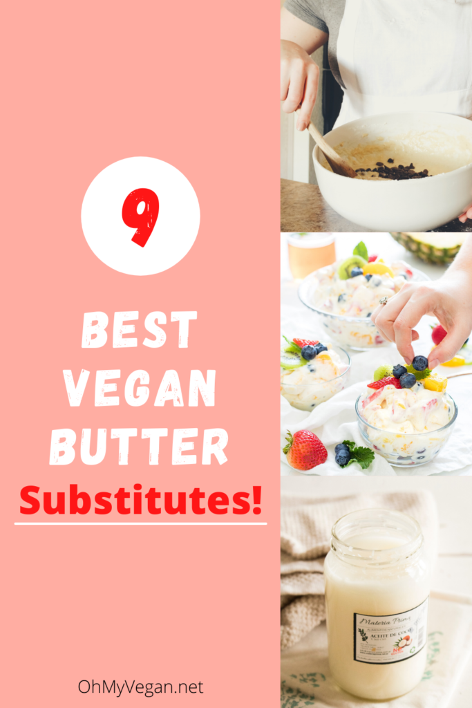 butter substitutes in baking